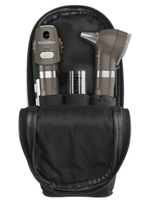 Welch Allyn Pocket LED Soft Case Set Ophthalmoscope, Otoscope BLACK