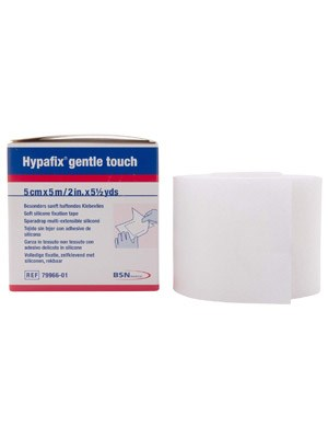 HYPAFIX GENTLE TOUCH 5cmx5m - Box/1