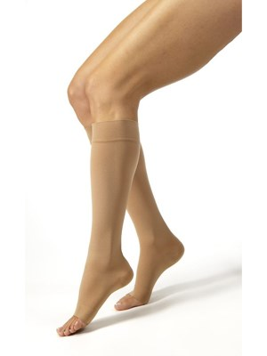 JOBST Relief Knee High Socks Beige 15-20mmHg - Large