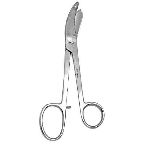 PLASTER SCISSOR BRUNS SMOOTH 24CM