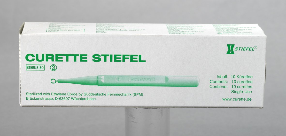 Curette Stiefel 4mm 10