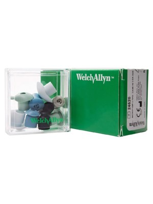Welch Allyn Microtymp 3 Tips Case W/ 2 Ea Size Tip