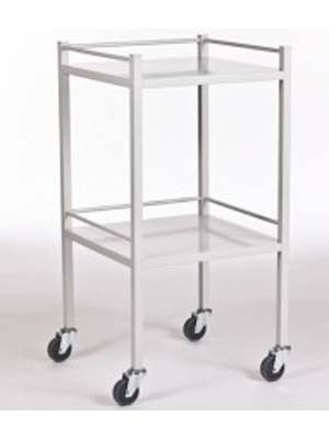 Stainless Steel Equipment Trolley 50x50cm