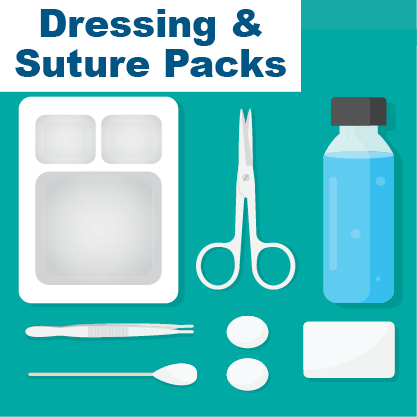 Dressing and Suture Packs